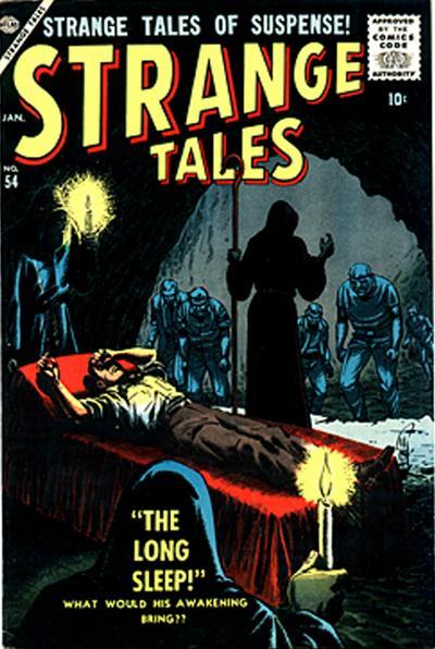Strange Tales (1951) 54 Page 1