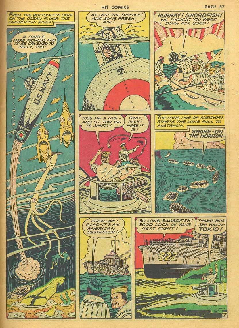 Read online Hit Comics comic -  Issue #24 - 59