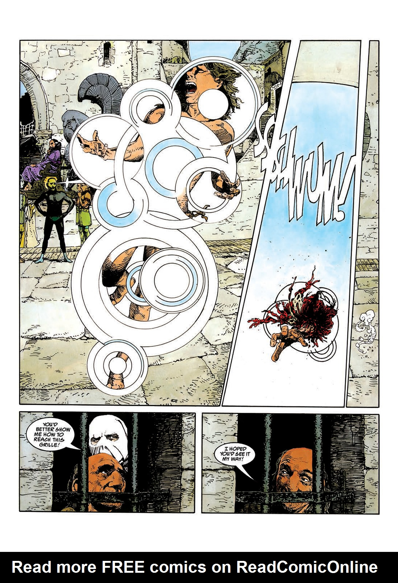 Read online Mazeworld comic -  Issue # TPB - 34