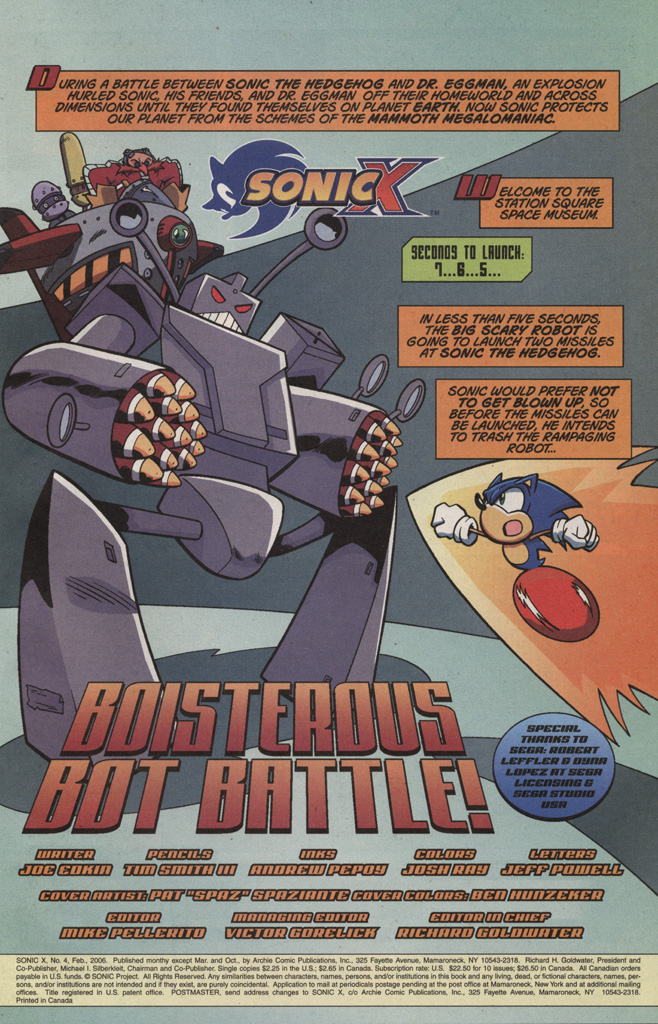 Read online Sonic X comic -  Issue #4 - 3