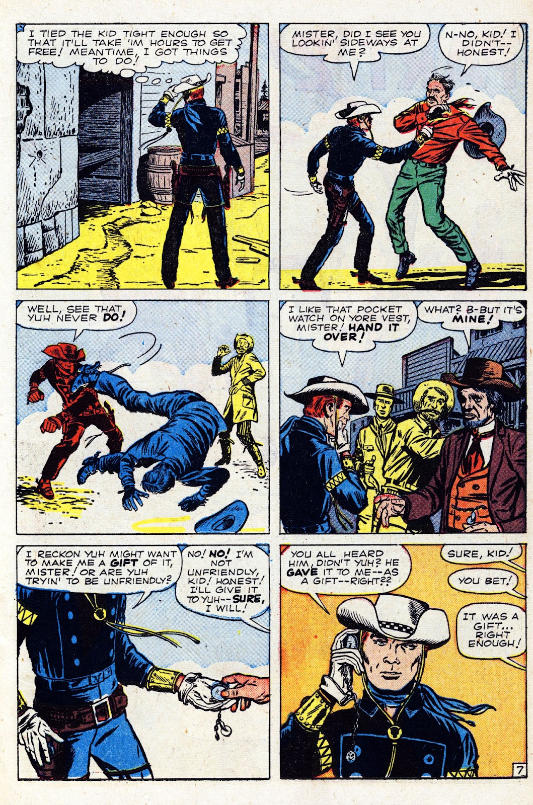 The Rawhide Kid (1955) issue 24 - Page 11