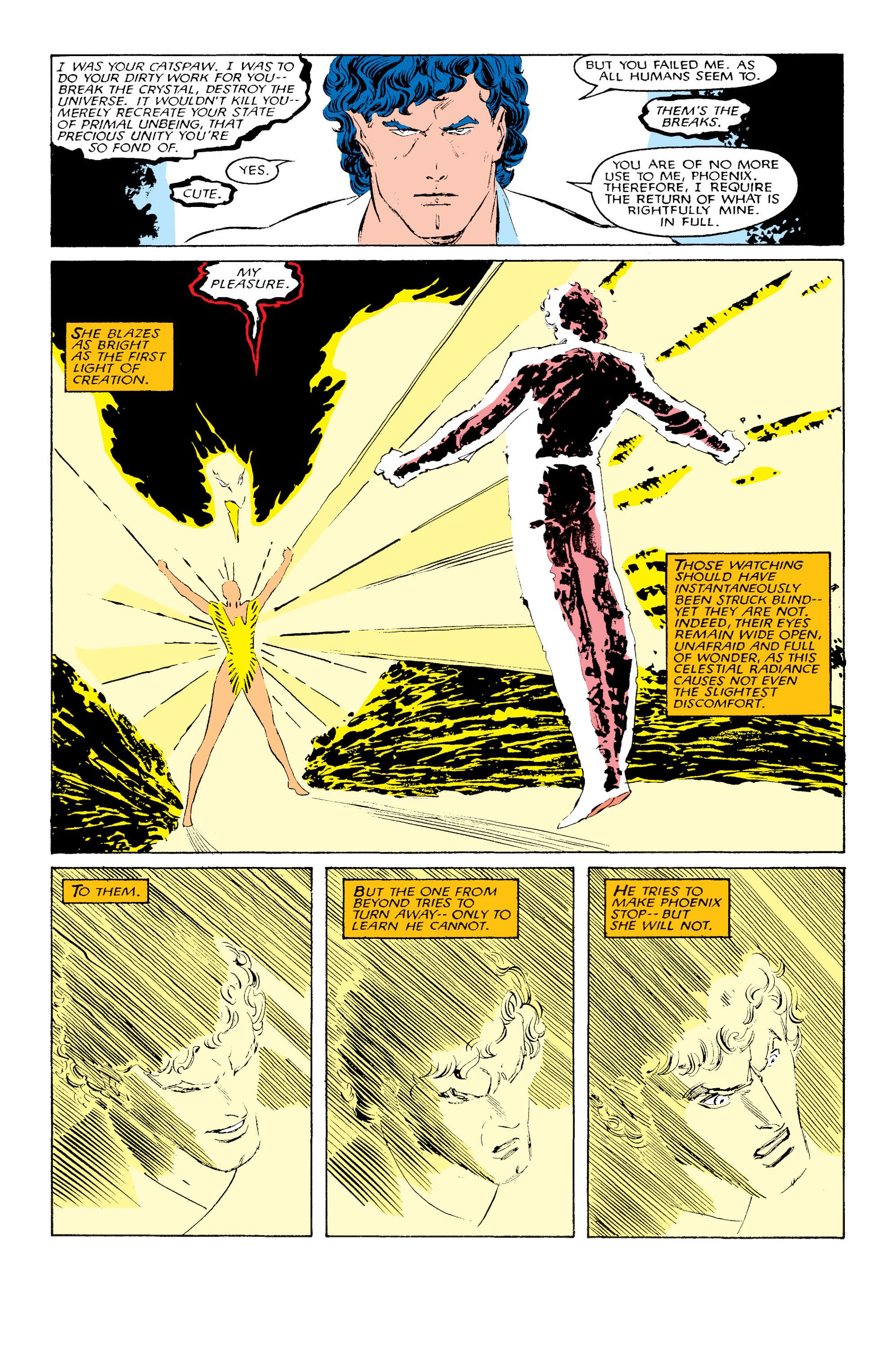 Read online Uncanny X-Men (1963) comic -  Issue #203 - 21