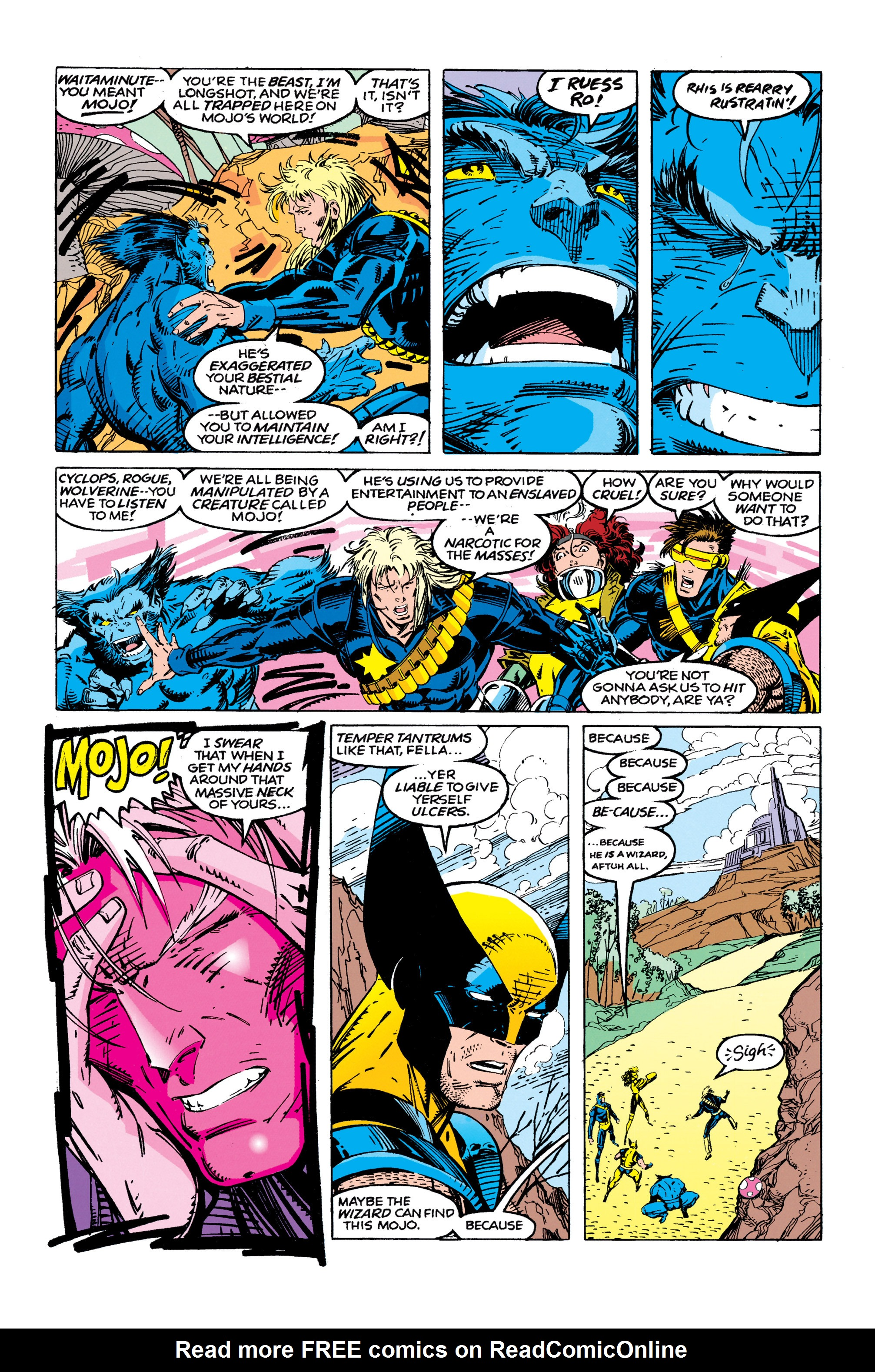 X-Men (1991) 10 Page 4