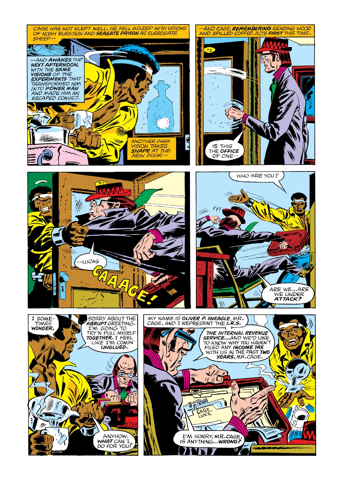 Read online Marvel Masterworks: Luke Cage, Power Man comic -  Issue # TPB 3 (Part 1) - 60