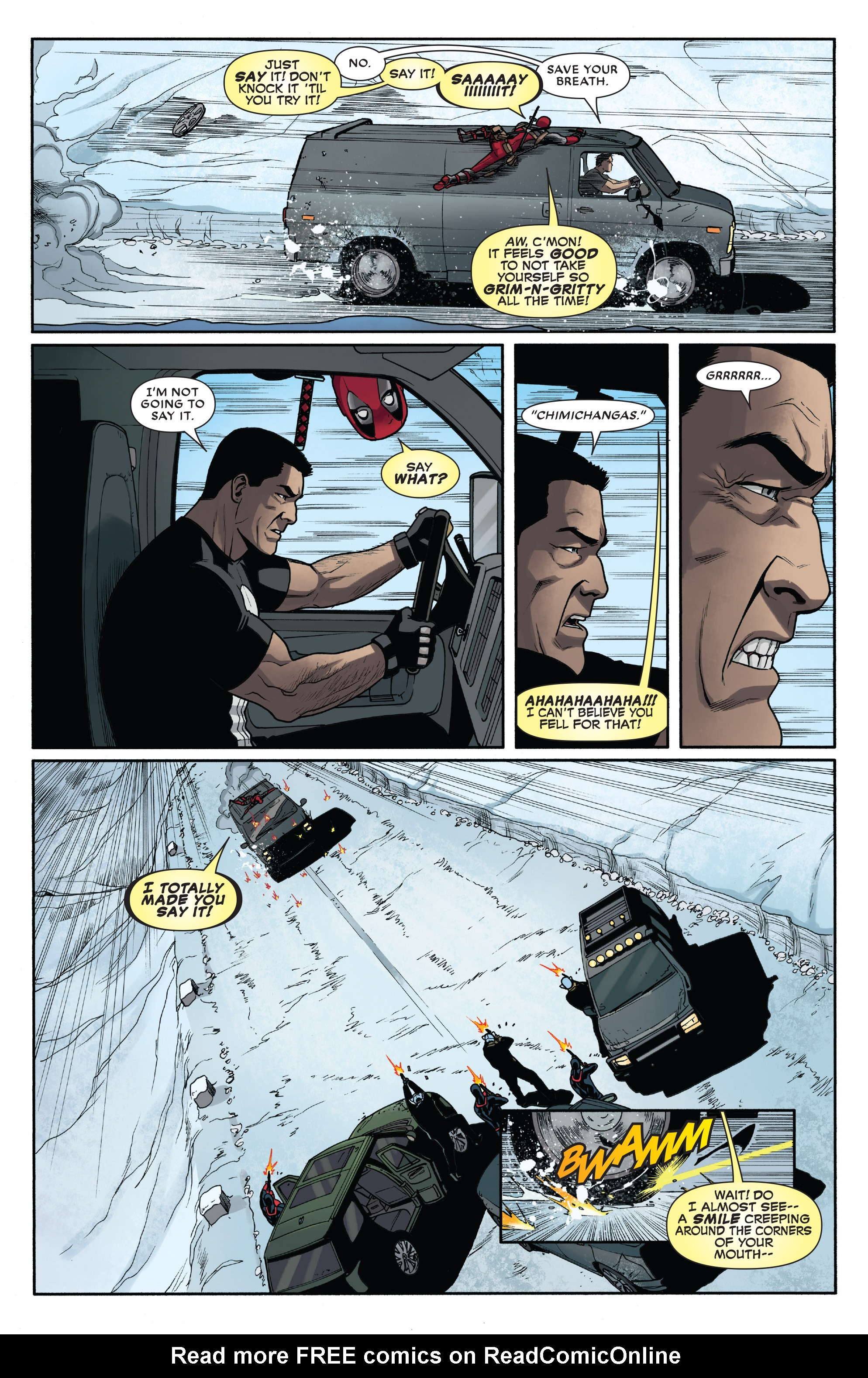 Read online Deadpool vs. The Punisher comic -  Issue #3 - 10