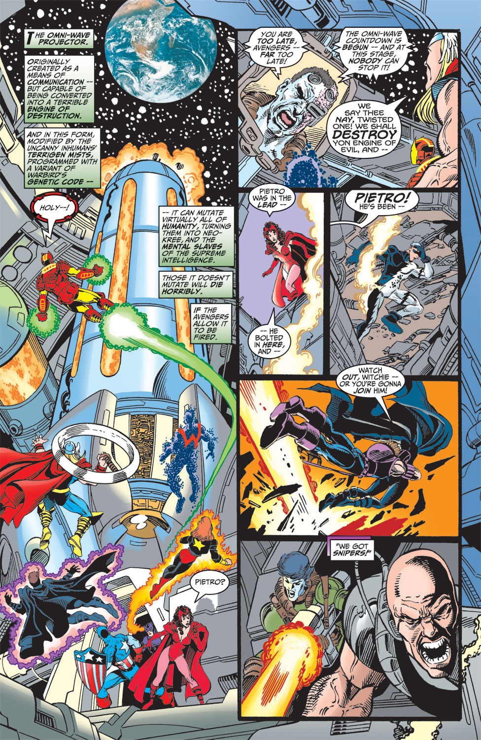 Read online Avengers (1998) comic -  Issue #7 - 16