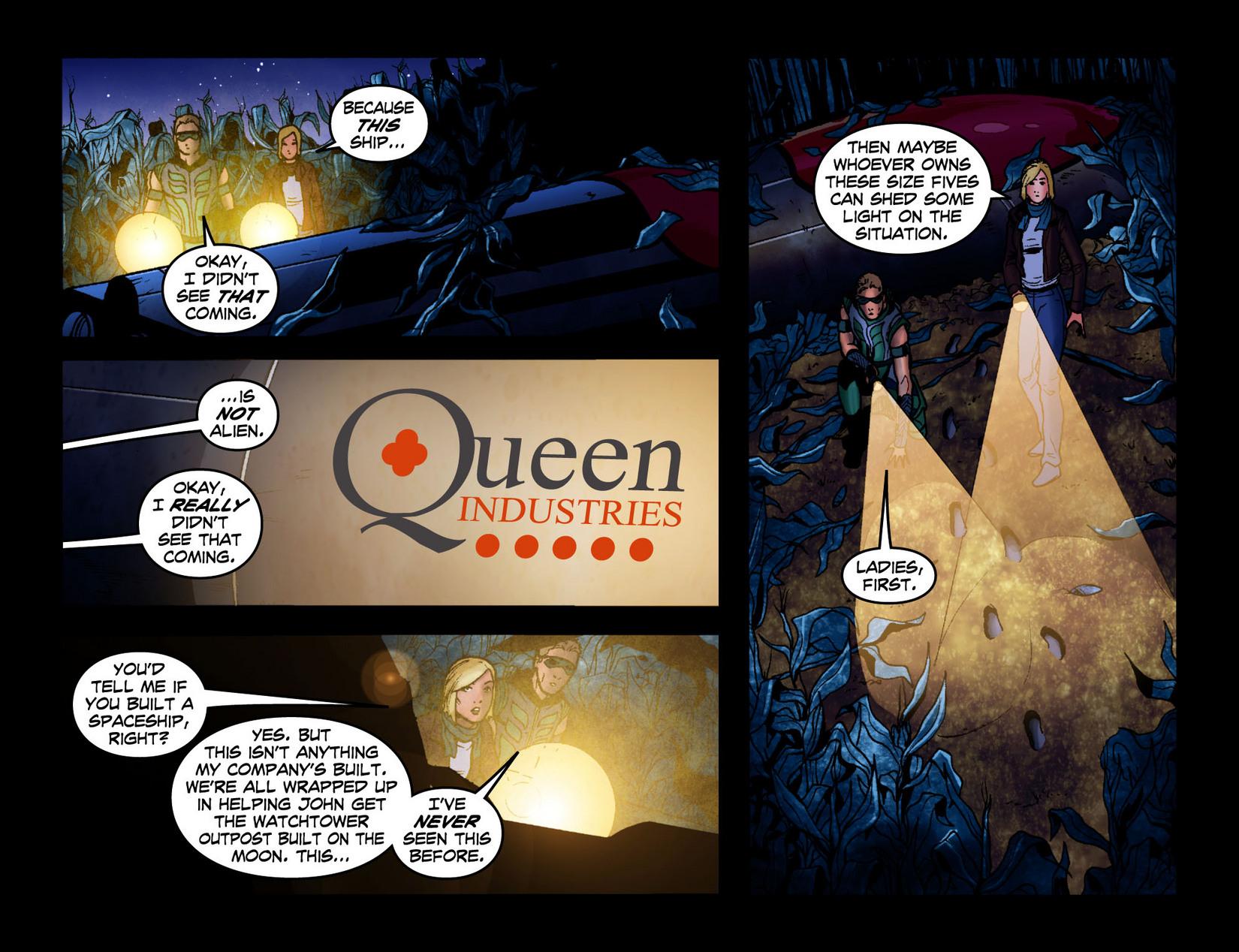 Read online Smallville: Season 11 comic -  Issue #7 - 8