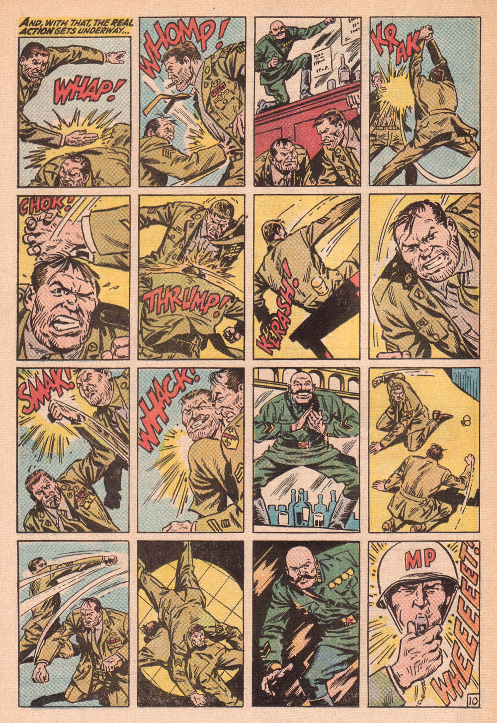 Read online Sgt. Fury comic -  Issue #73 - 16