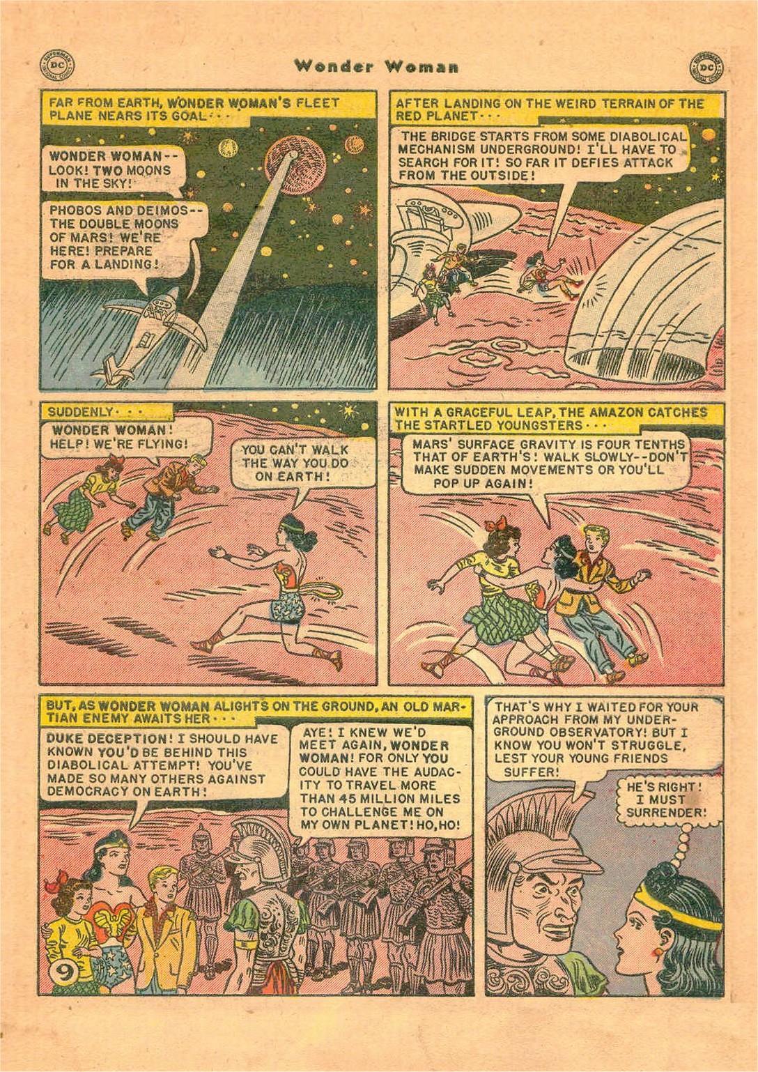 Read online Wonder Woman (1942) comic -  Issue #47 - 44