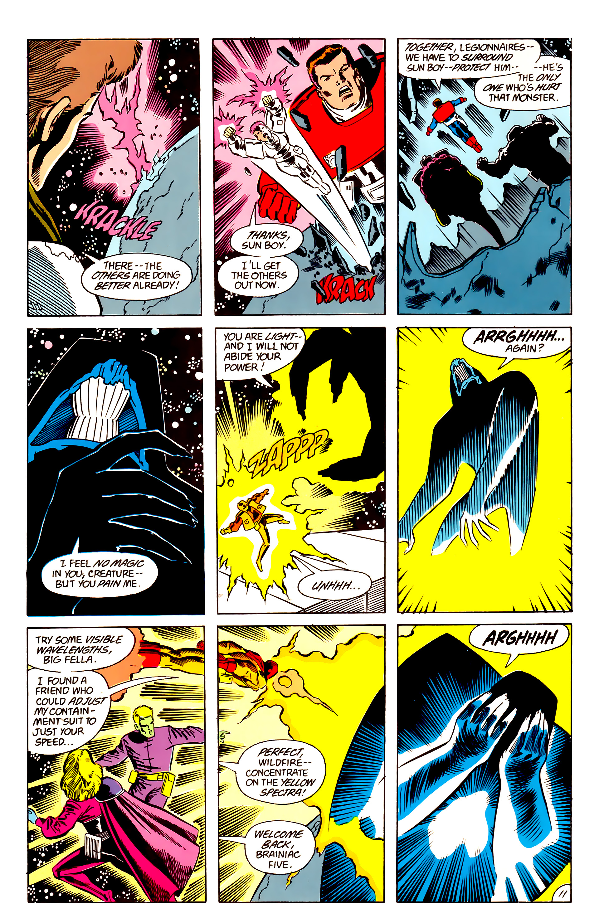 Legion of Super-Heroes (1984) 63 Page 11