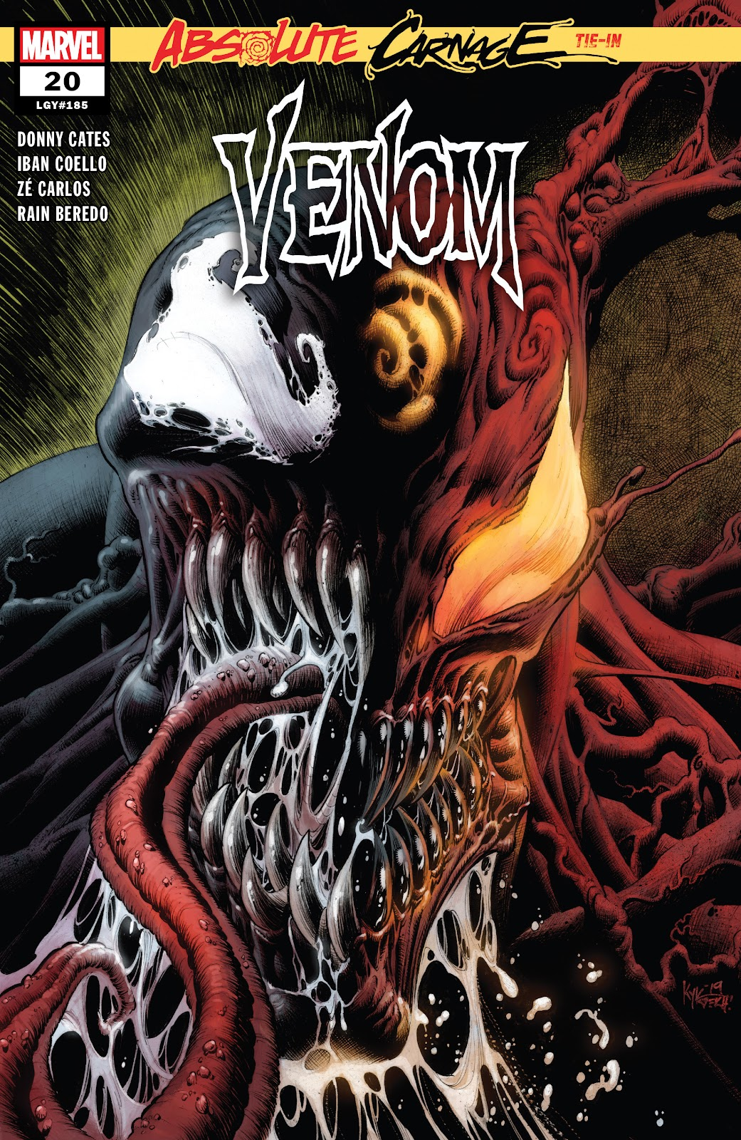 Venom (2018) issue 20 - Page 1