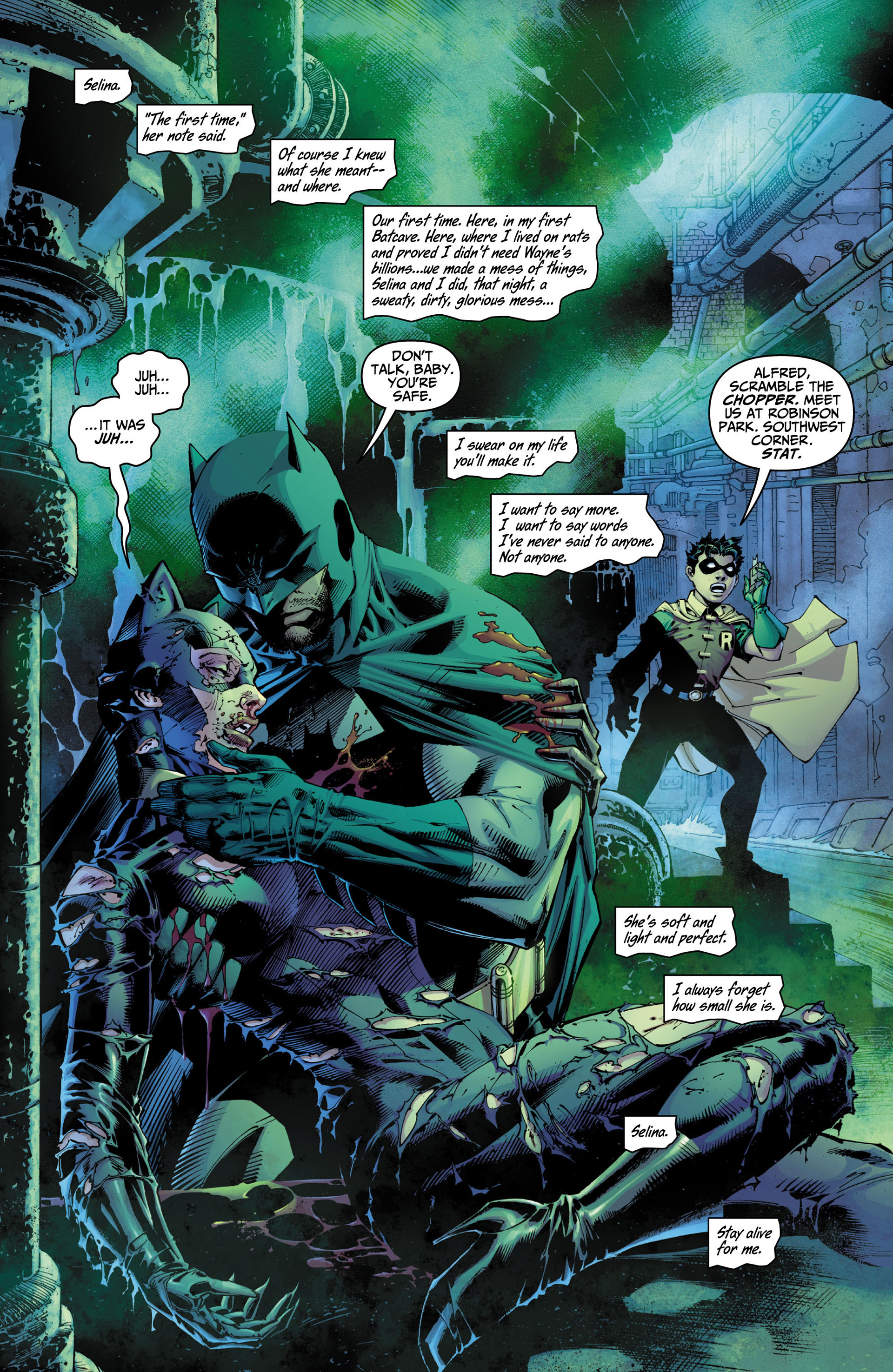 Read online All Star Batman & Robin, The Boy Wonder comic -  Issue #10 - 12