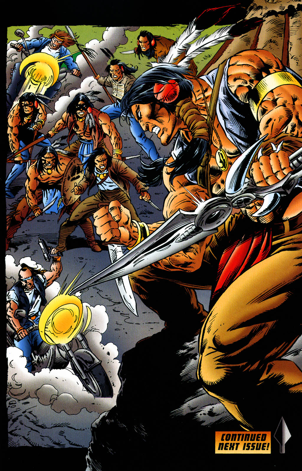 Read online Turok, Dinosaur Hunter (1993) comic -  Issue #43 - 20