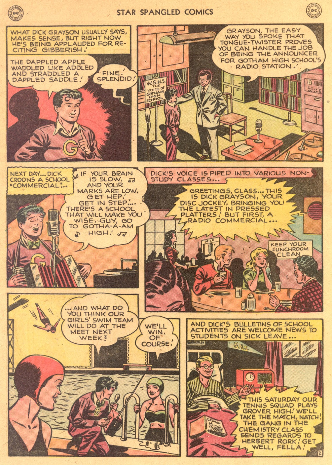 Star Spangled Comics (1941) issue 80 - Page 4