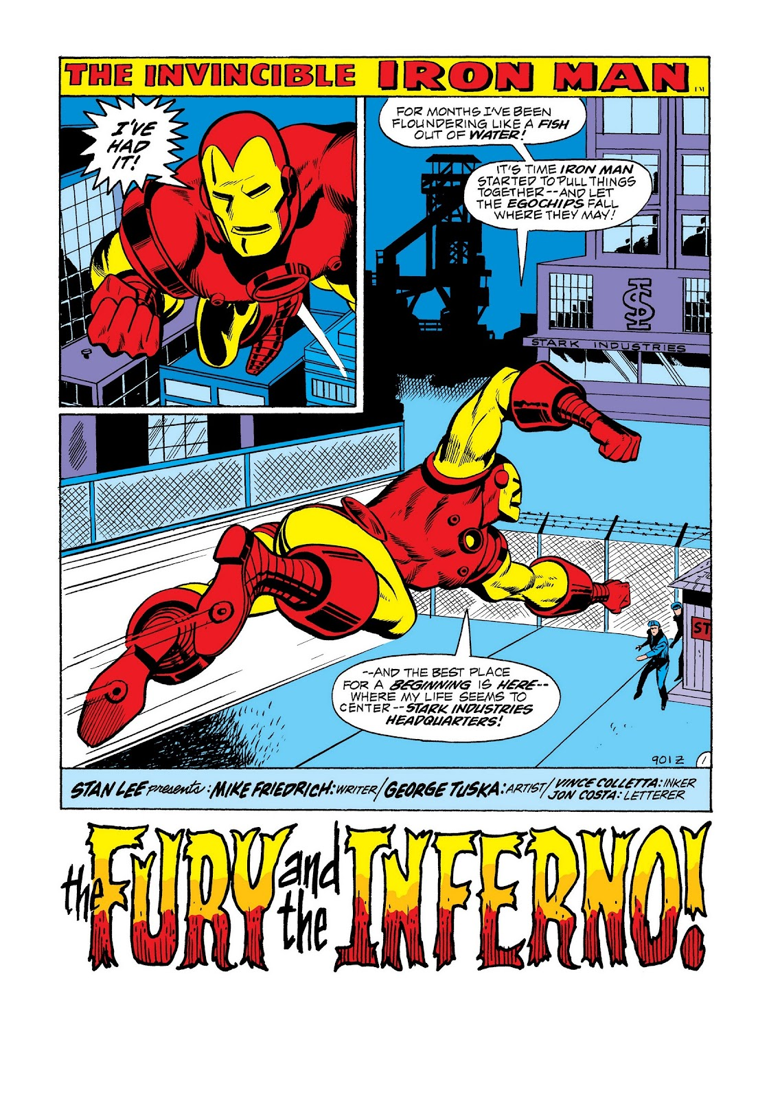 Read online Marvel Masterworks: The Invincible Iron Man comic -  Issue # TPB 8 (Part 2) - 89
