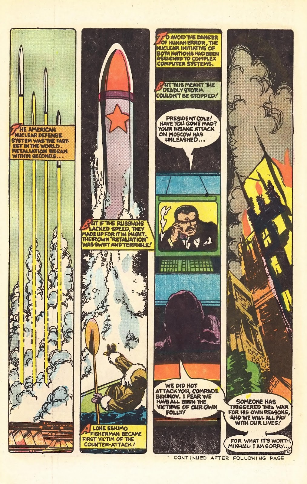 Read online Doomsday   1 (1975) comic -  Issue #4 - 6