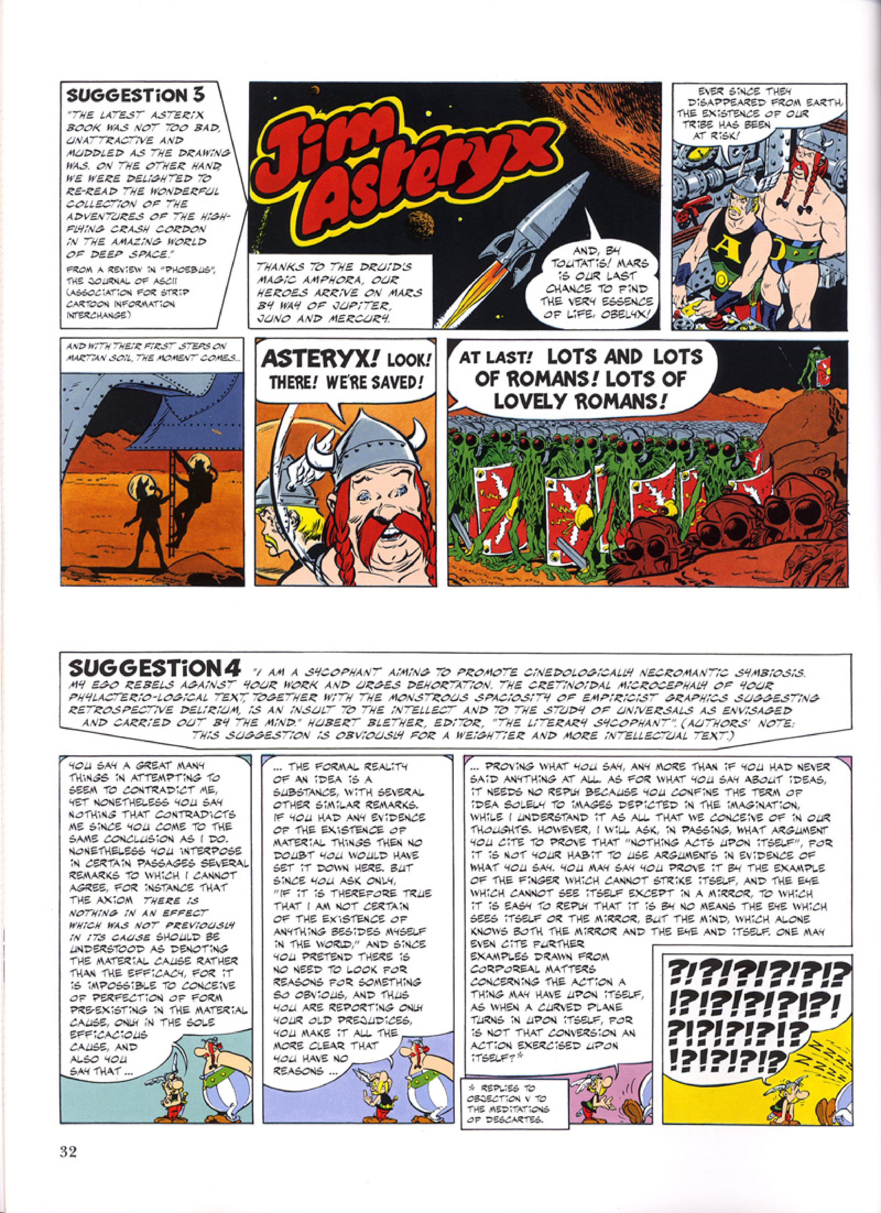 Read online Asterix comic -  Issue #32 - 33