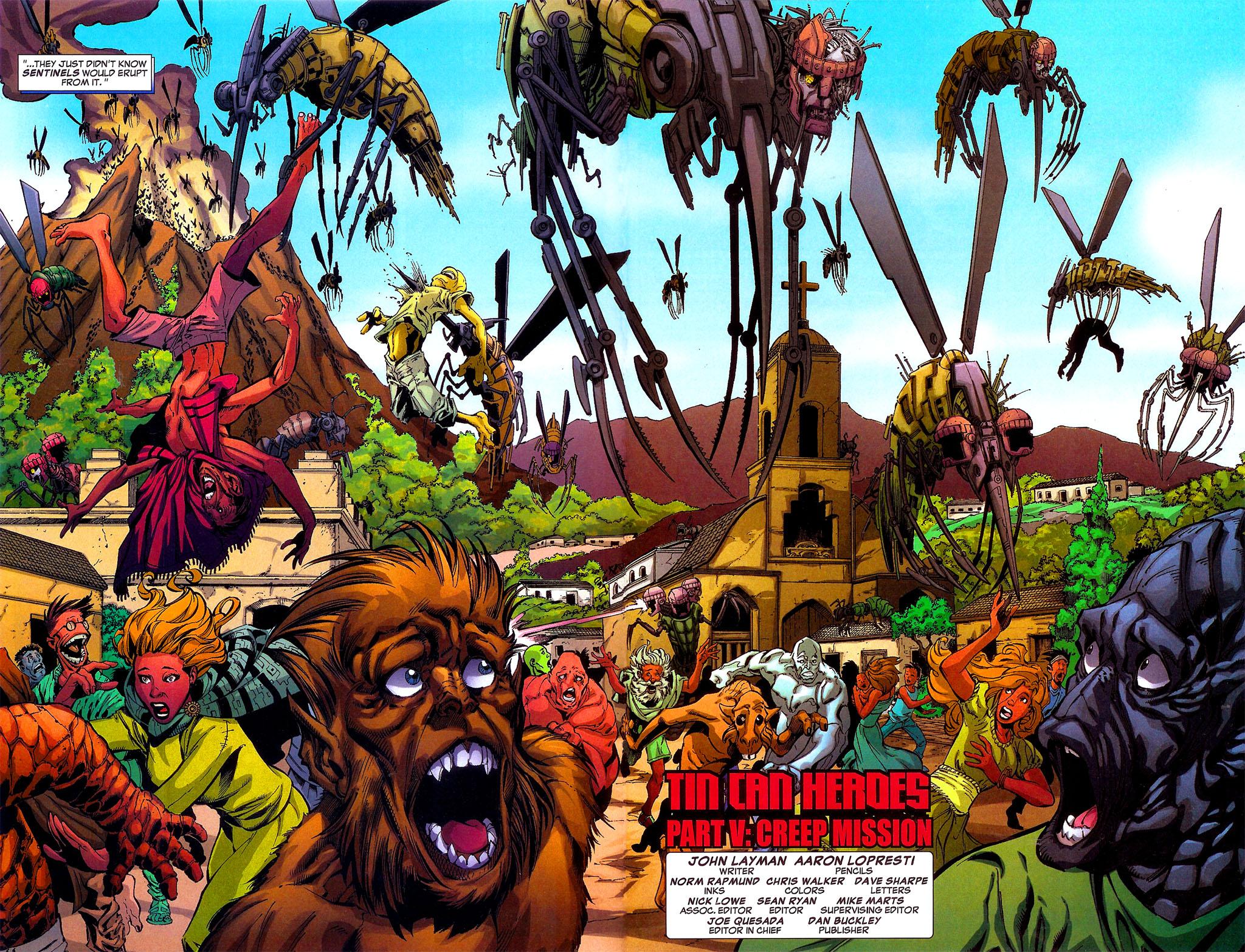Read online Sentinel Squad O*N*E comic -  Issue #5 - 7
