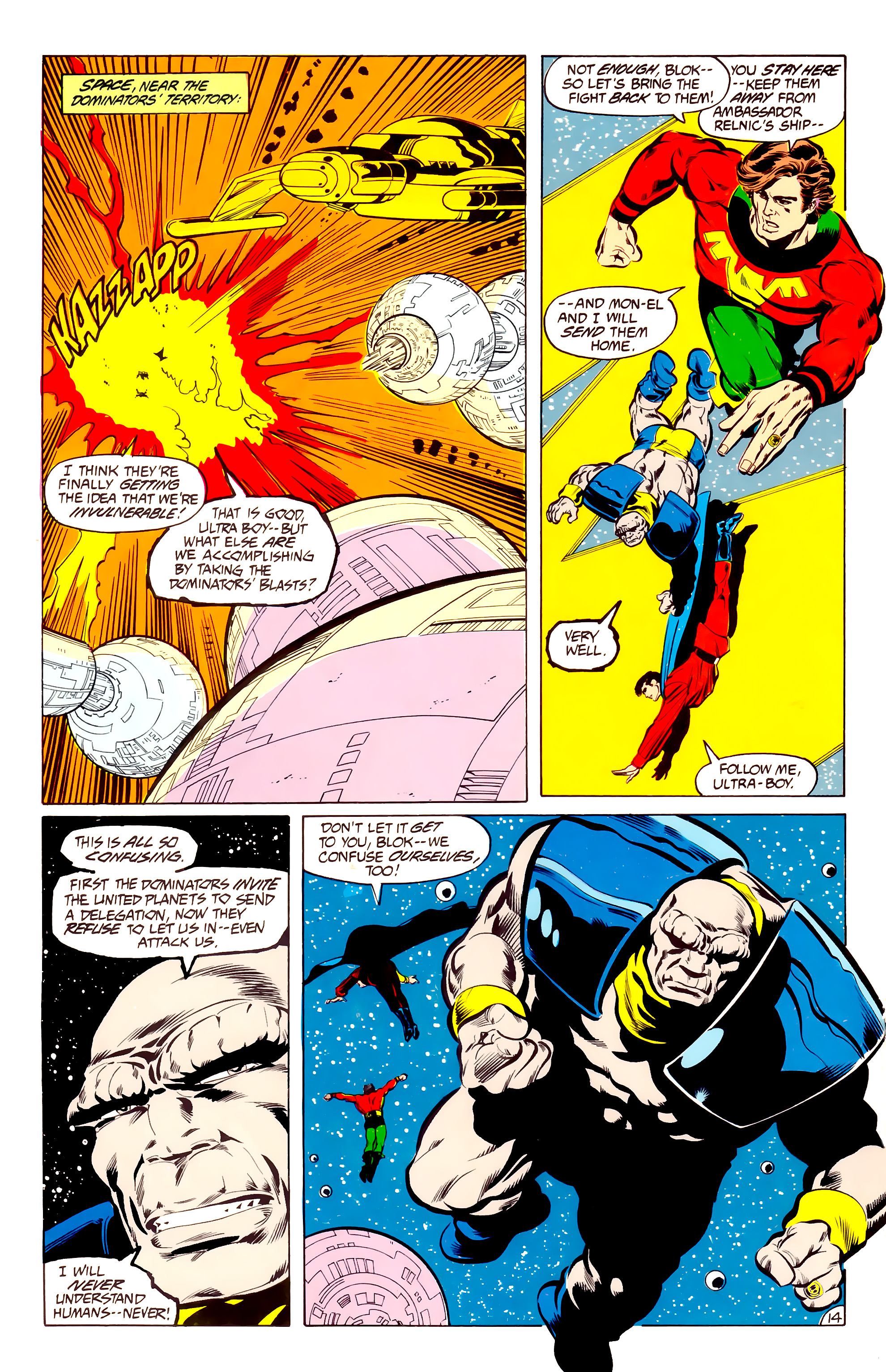Legion of Super-Heroes (1984) 34 Page 14