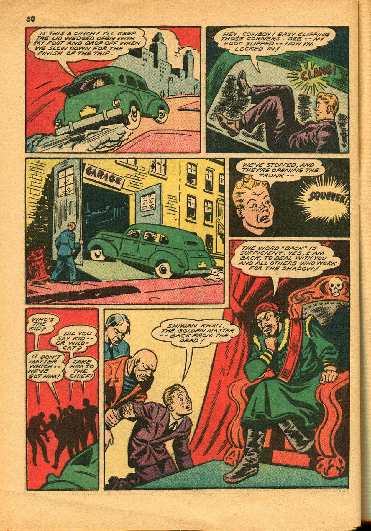 Read online Shadow Comics comic -  Issue #23 - 60