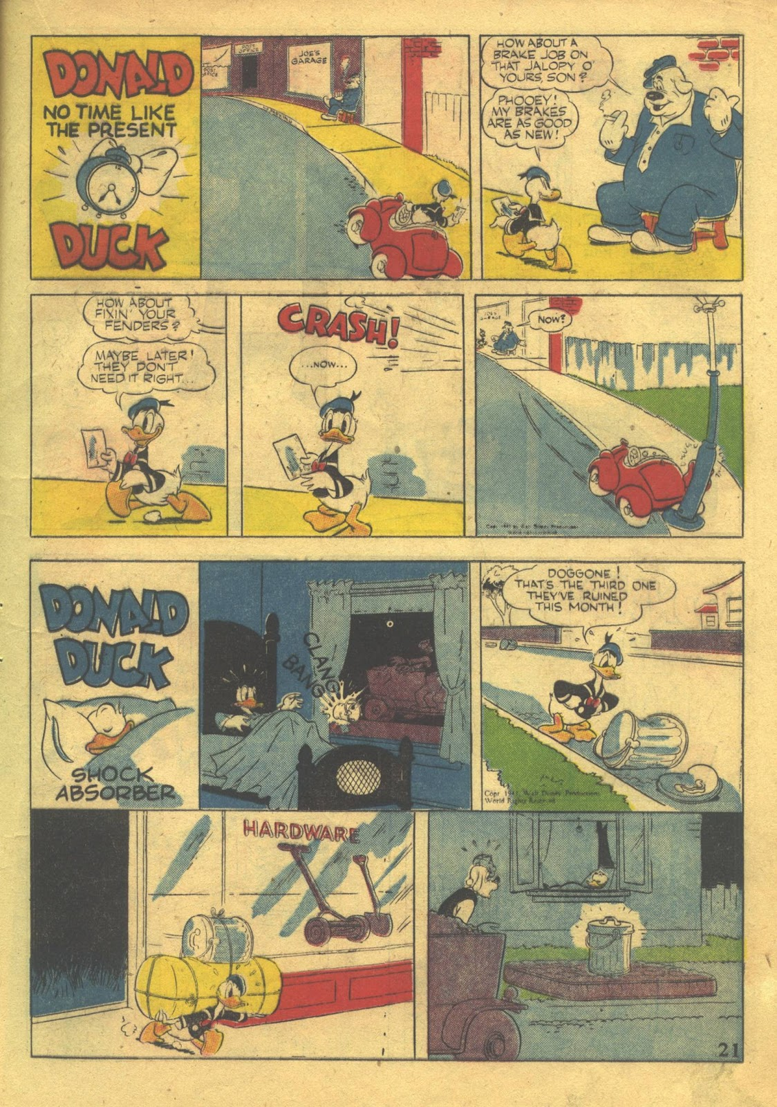 Walt Disney's Comics and Stories issue 39 - Page 23