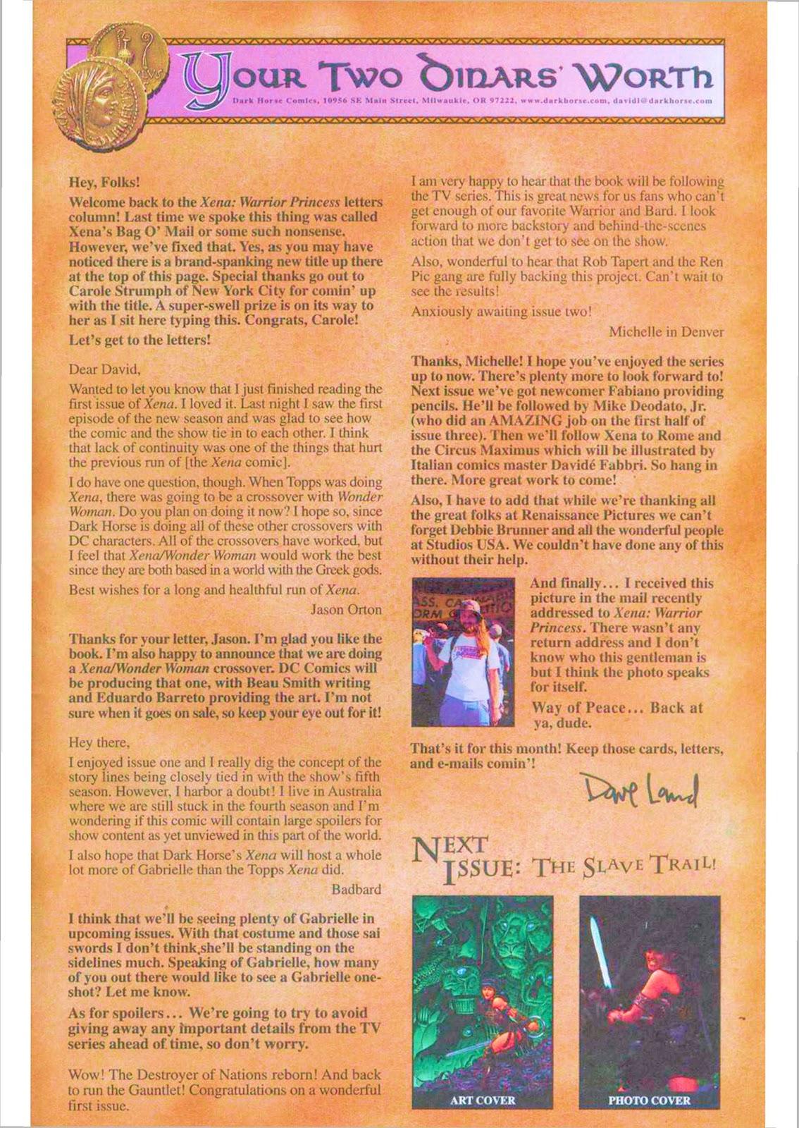 Xena: Warrior Princess (1999) Issue #4 #4 - English 27