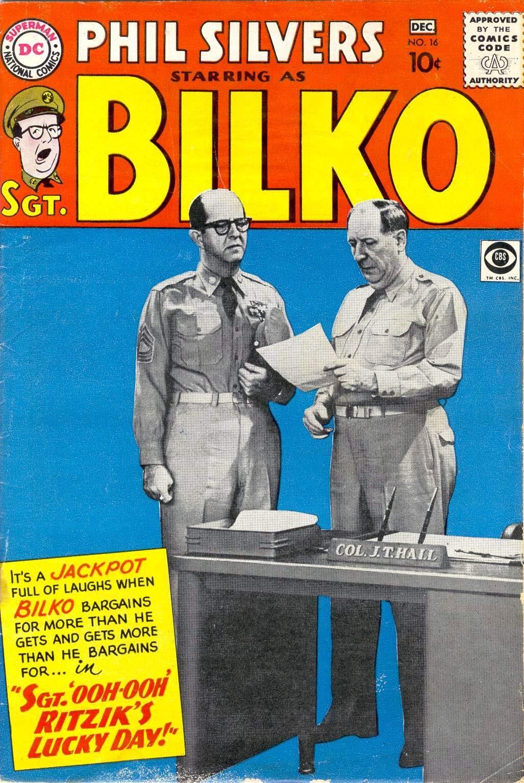 Sergeant Bilko issue 16 - Page 1