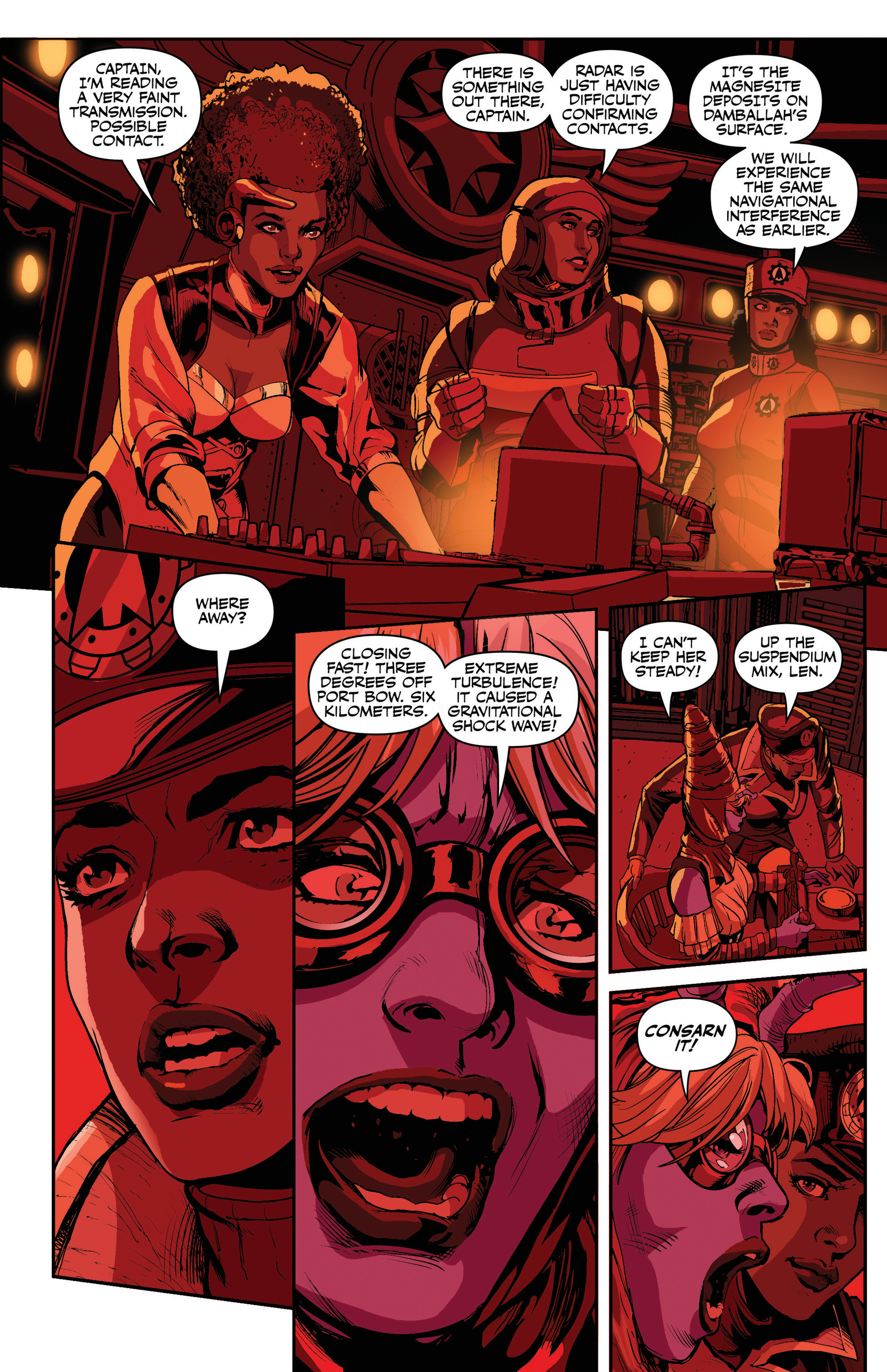 Read online Airship Enterprise: The Infernal Machine comic -  Issue #3 - 16