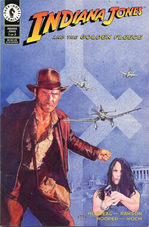 Indiana Jones and the Golden Fleece 1 Page 1