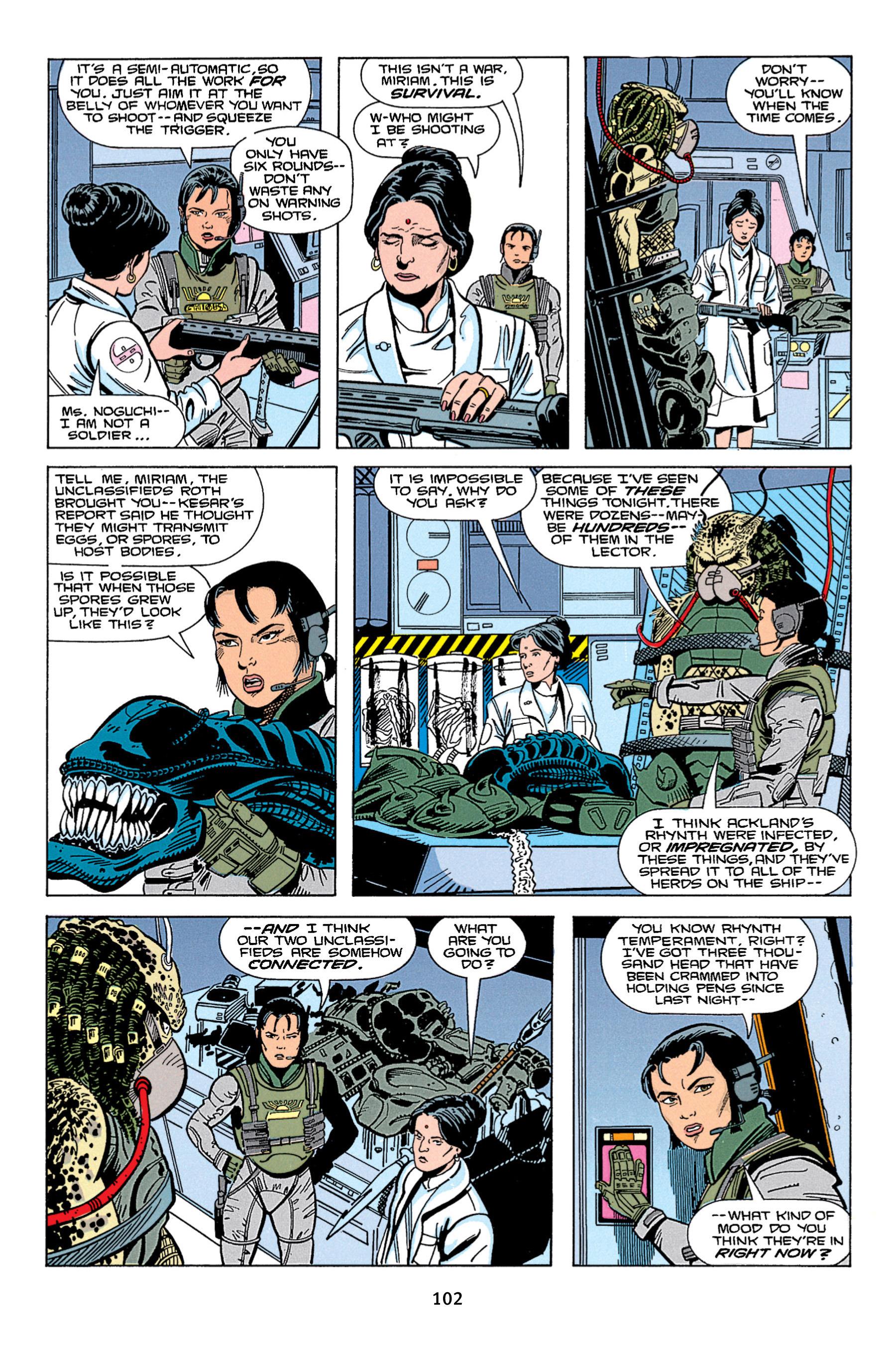 Read online Aliens vs. Predator Omnibus comic -  Issue # _TPB 1 Part 2 - 1