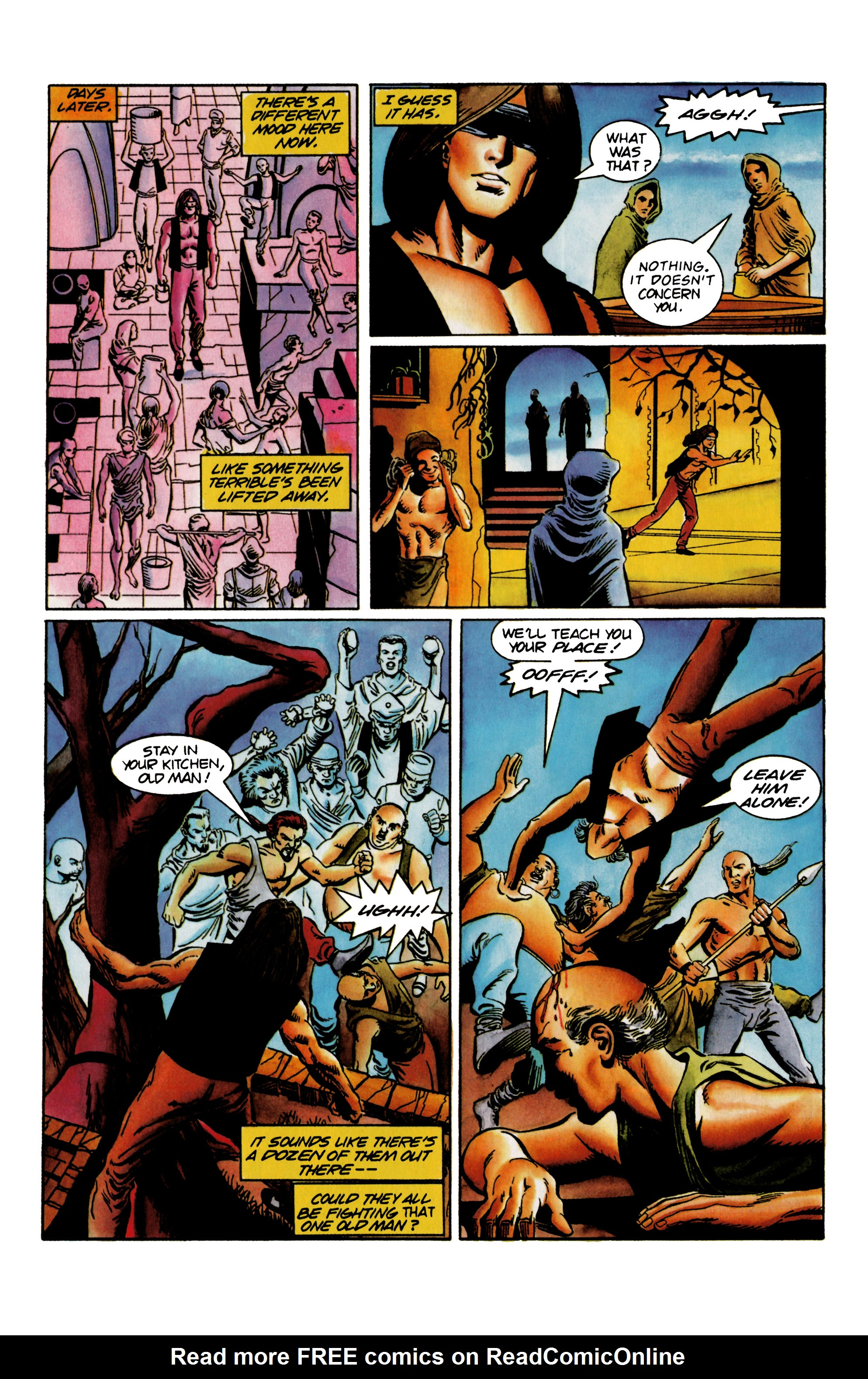 Read online Eternal Warrior (1992) comic -  Issue #23 - 16