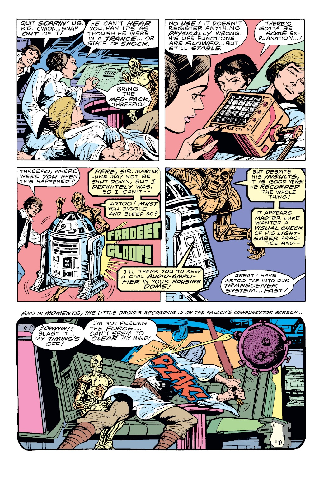 Read online Star Wars Legends: The Original Marvel Years - Epic Collection comic -  Issue # TPB 1 (Part 4) - 18