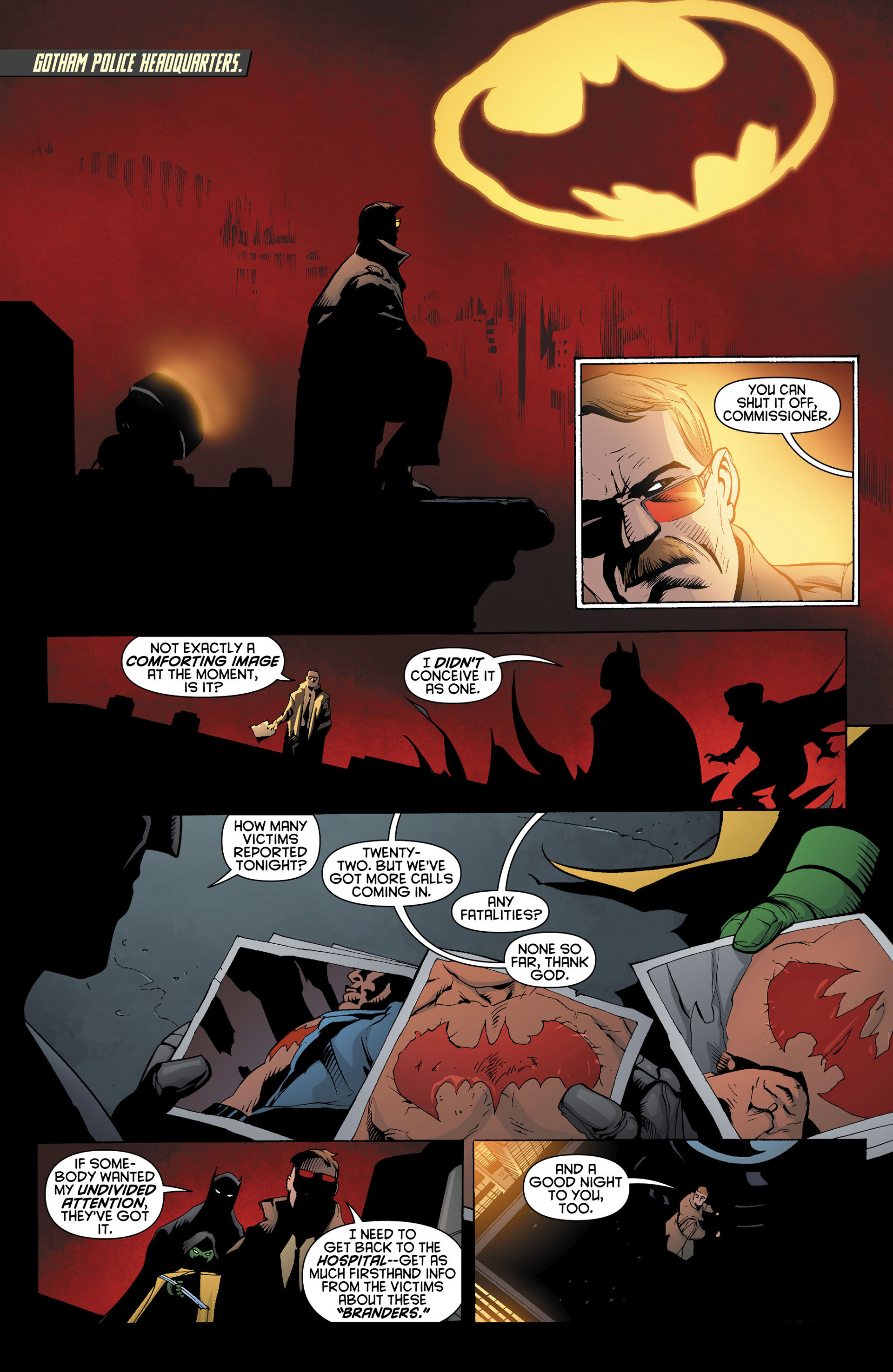 Read online Batman and Robin (2011) comic -  Issue #11 - 10
