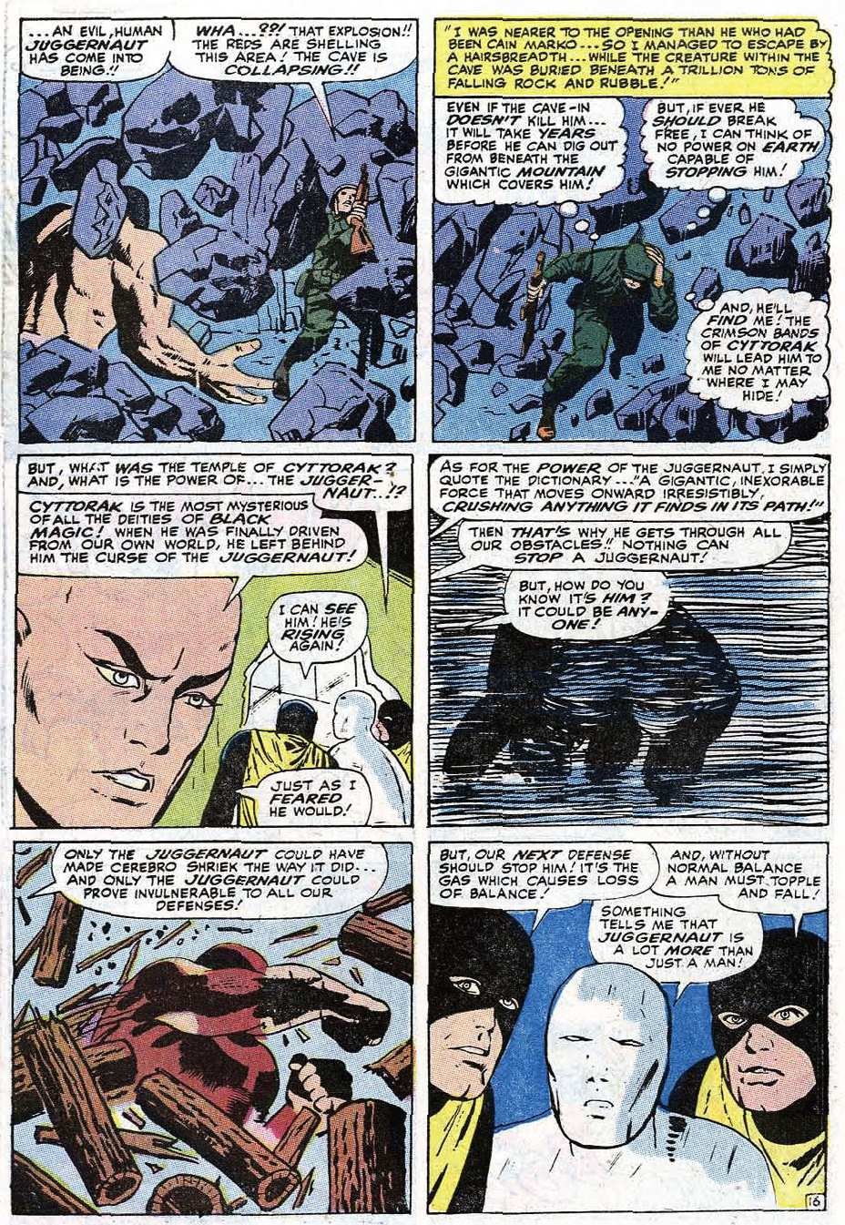 Read online Uncanny X-Men (1963) comic -  Issue #67 - 21