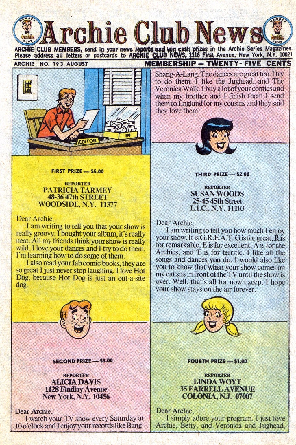 Read online Archie (1960) comic -  Issue #193 - 10