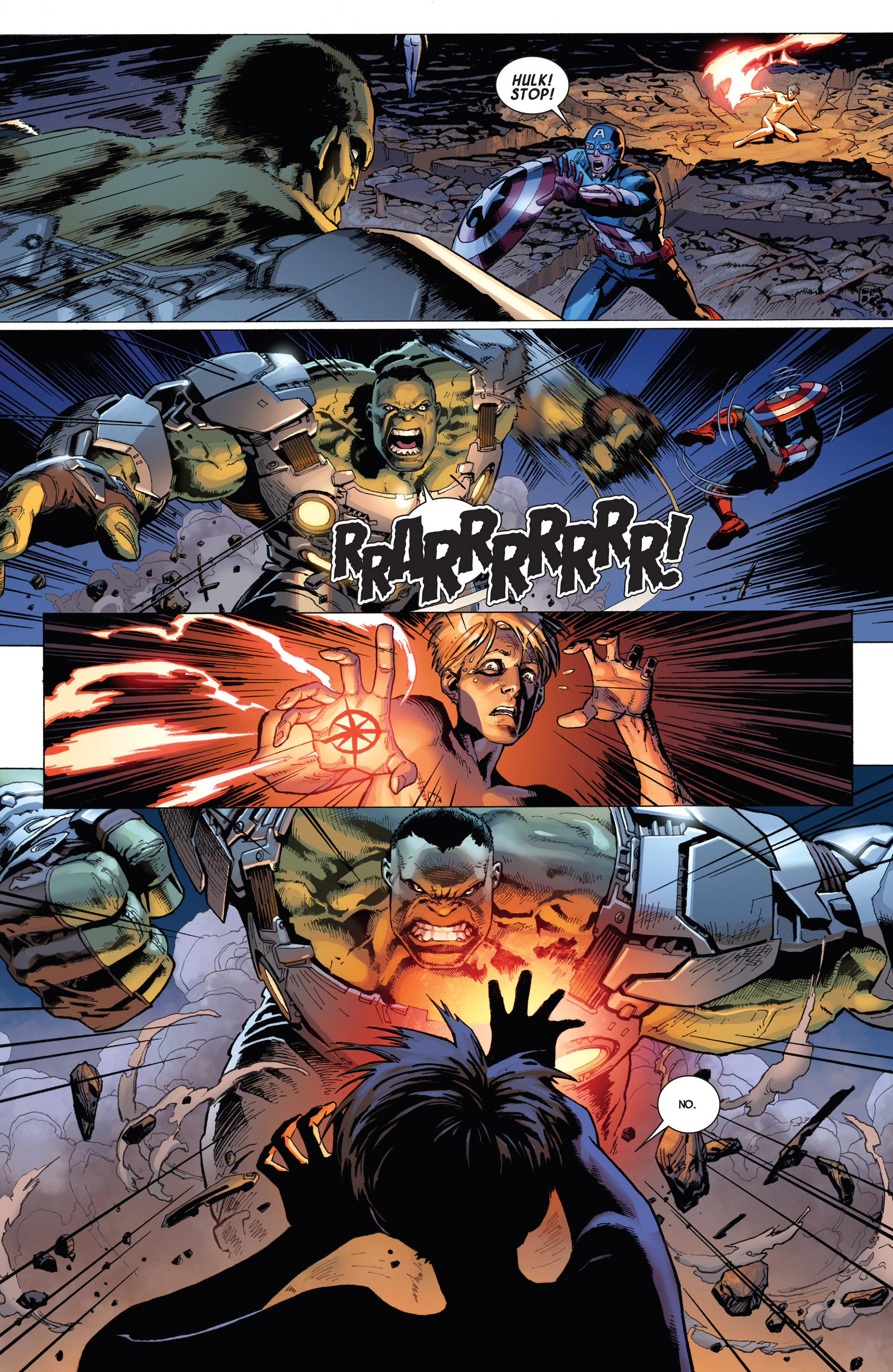 Read online Avengers (2013) comic -  Issue #8 - 9