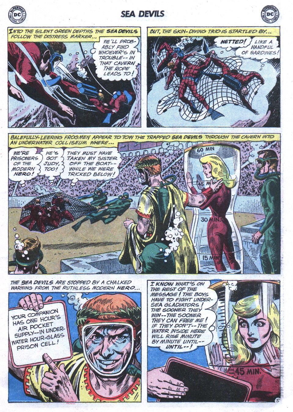 Read online Sea Devils comic -  Issue #3 - 8