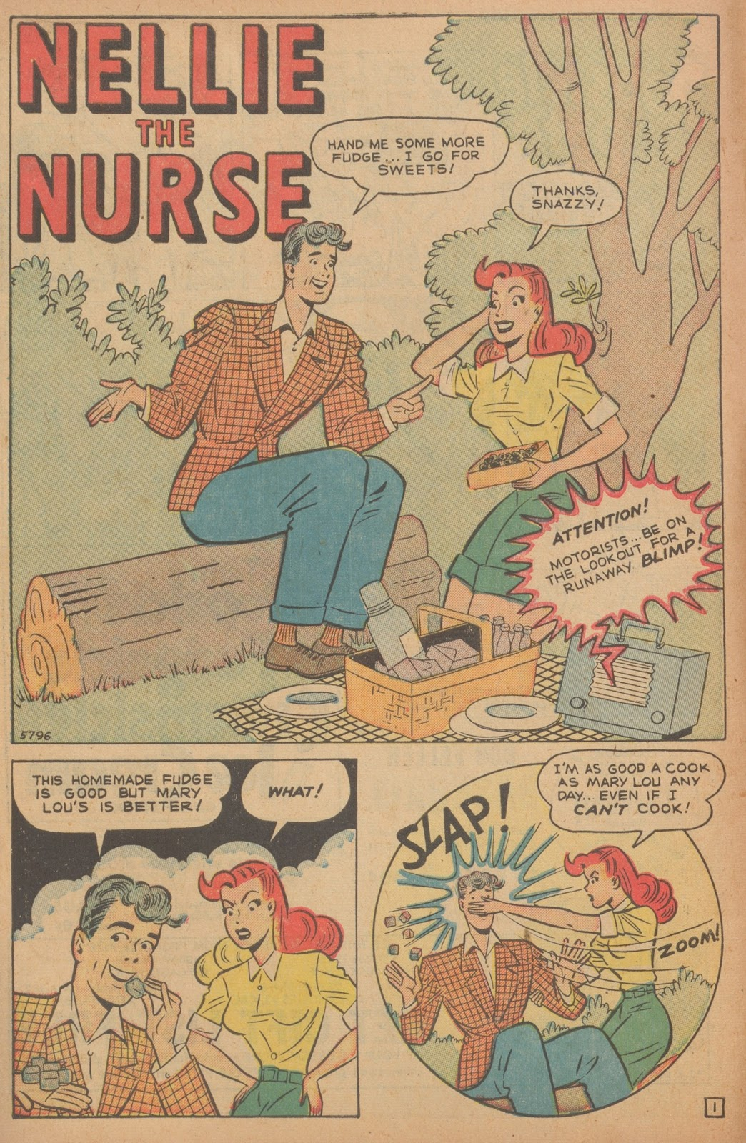 Read online Nellie The Nurse (1945) comic -  Issue #21 - 12