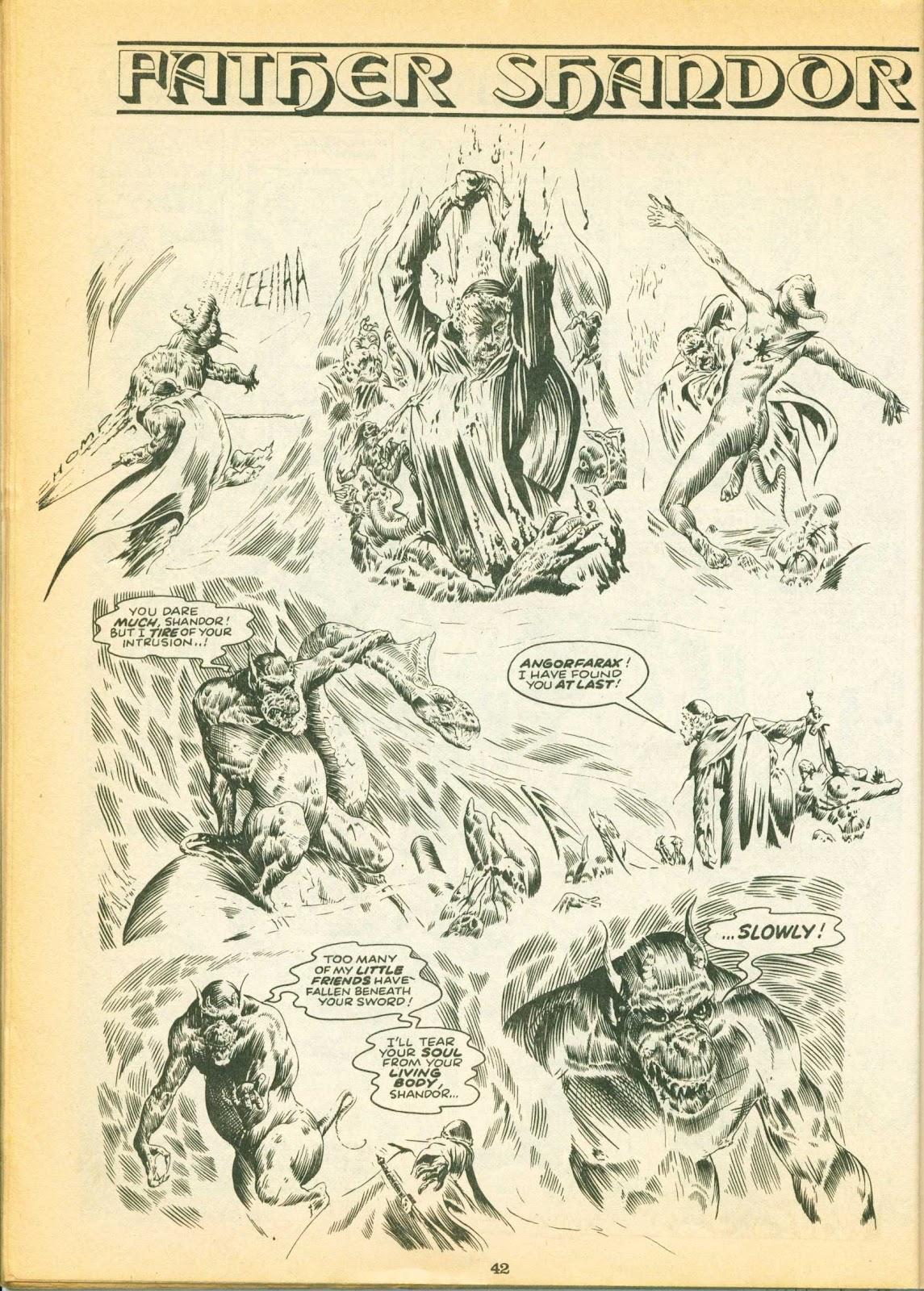 Warrior Issue #1 #2 - English 42