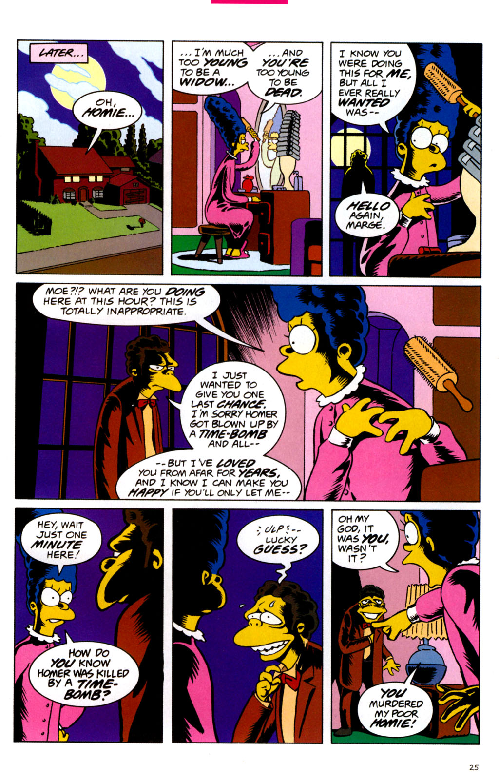 Read online Treehouse of Horror comic -  Issue #11 - 27