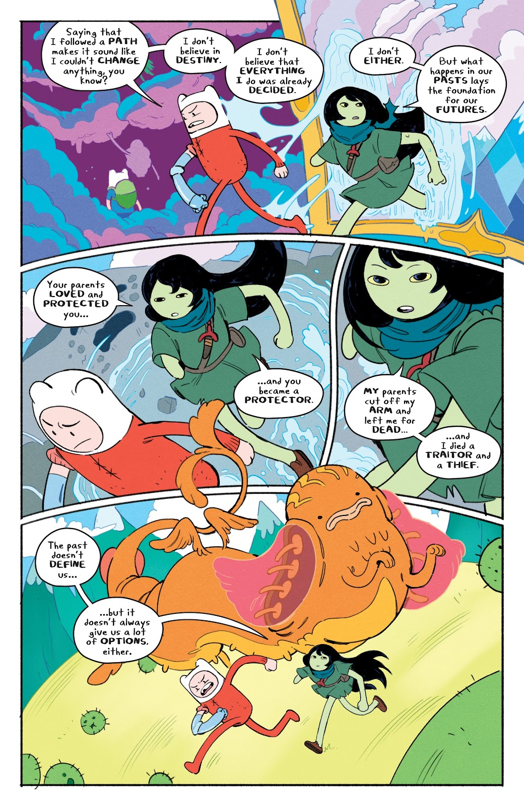 Read online Adventure Time: Beginning of the End comic -  Issue # _TPB - 20
