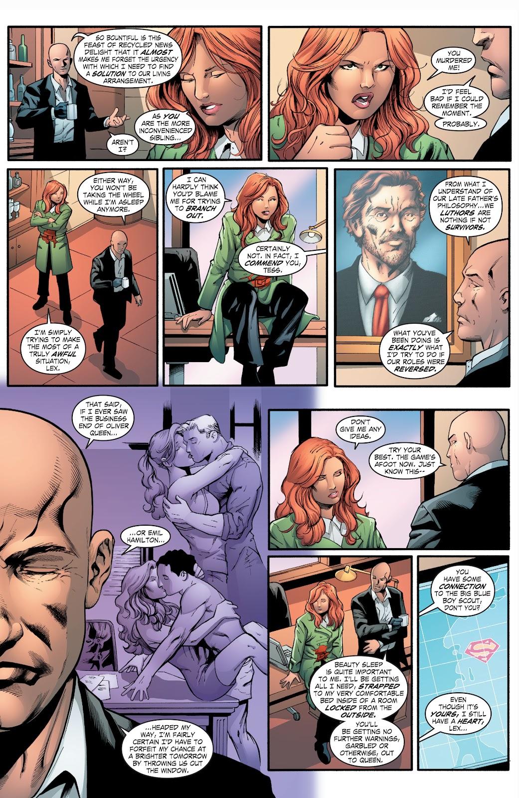 Read online Smallville Season 11 [II] comic -  Issue # TPB 2 - 104