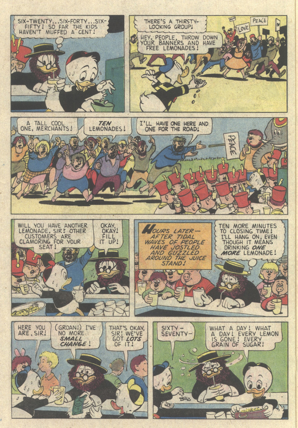 Read online Uncle Scrooge (1953) comic -  Issue #225 - 16