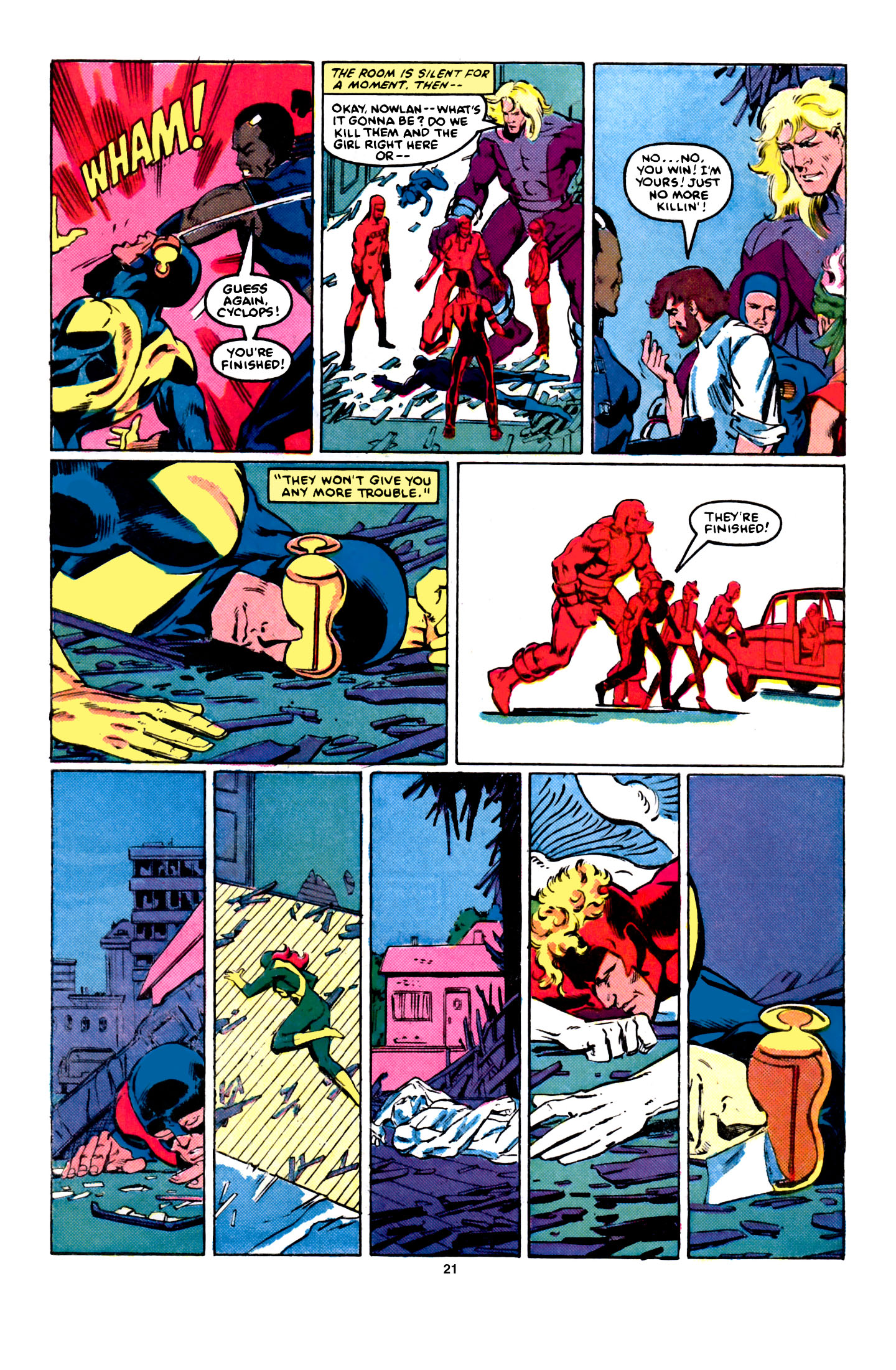 Read online X-Factor (1986) comic -  Issue #5 - 22