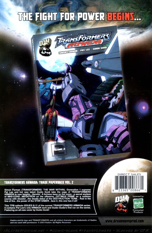 Read online Transformers Armada comic -  Issue #13 - 30
