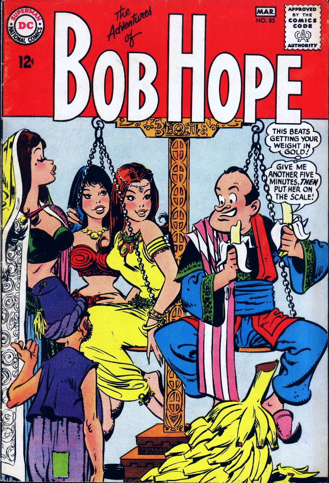 The Adventures of Bob Hope issue 85 - Page 1