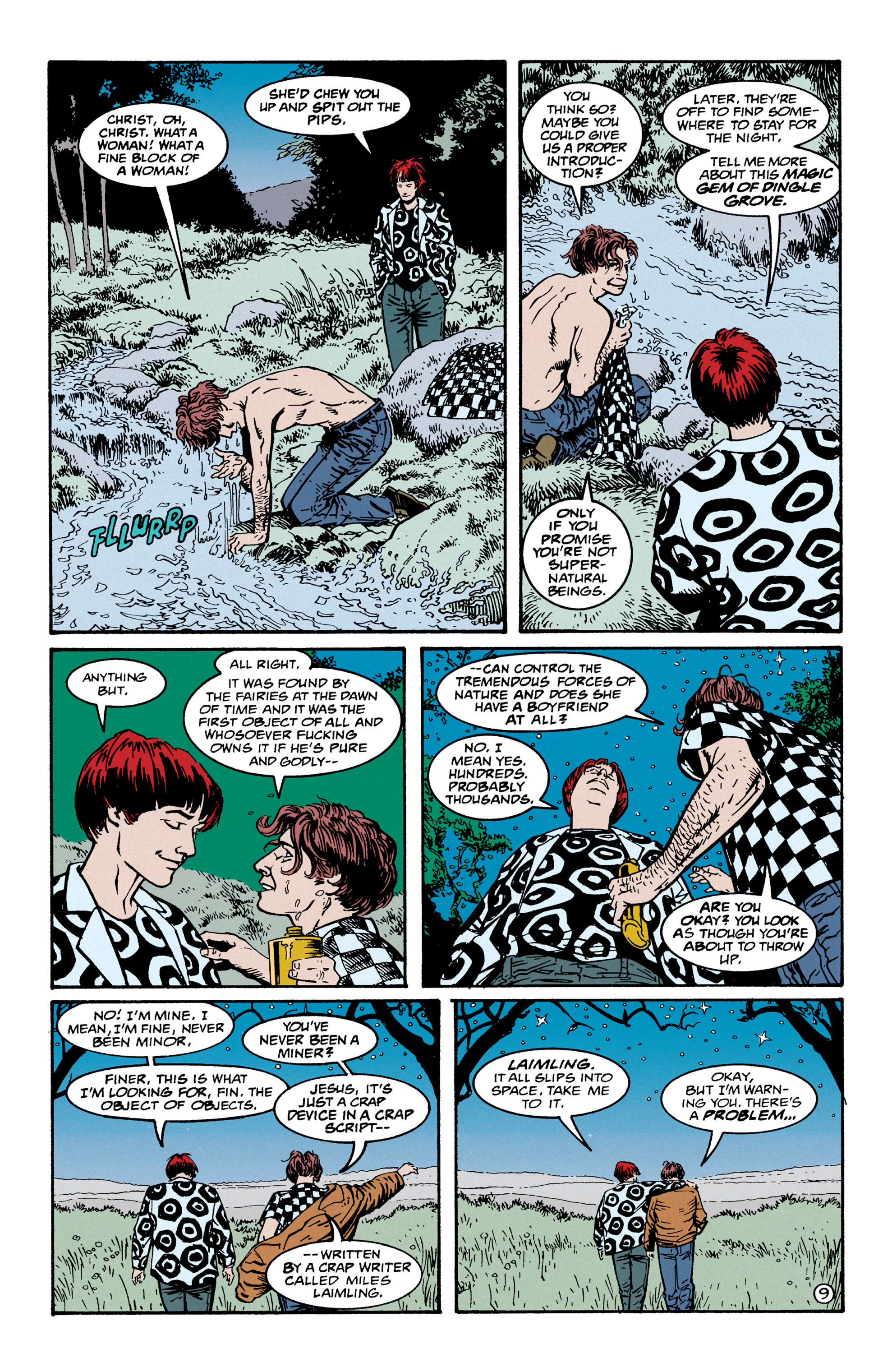 Read online Shade, the Changing Man comic -  Issue #67 - 10