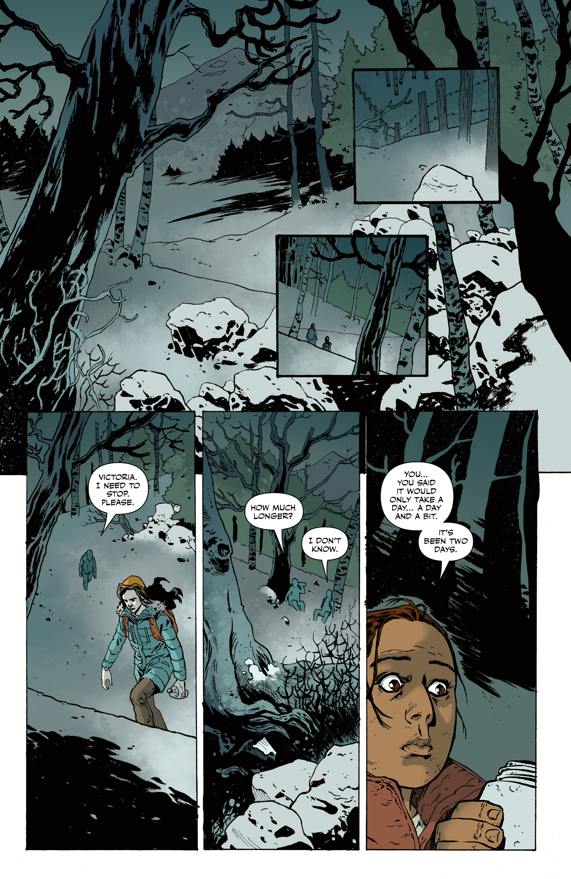 Read online Sheltered comic -  Issue #11 - 16