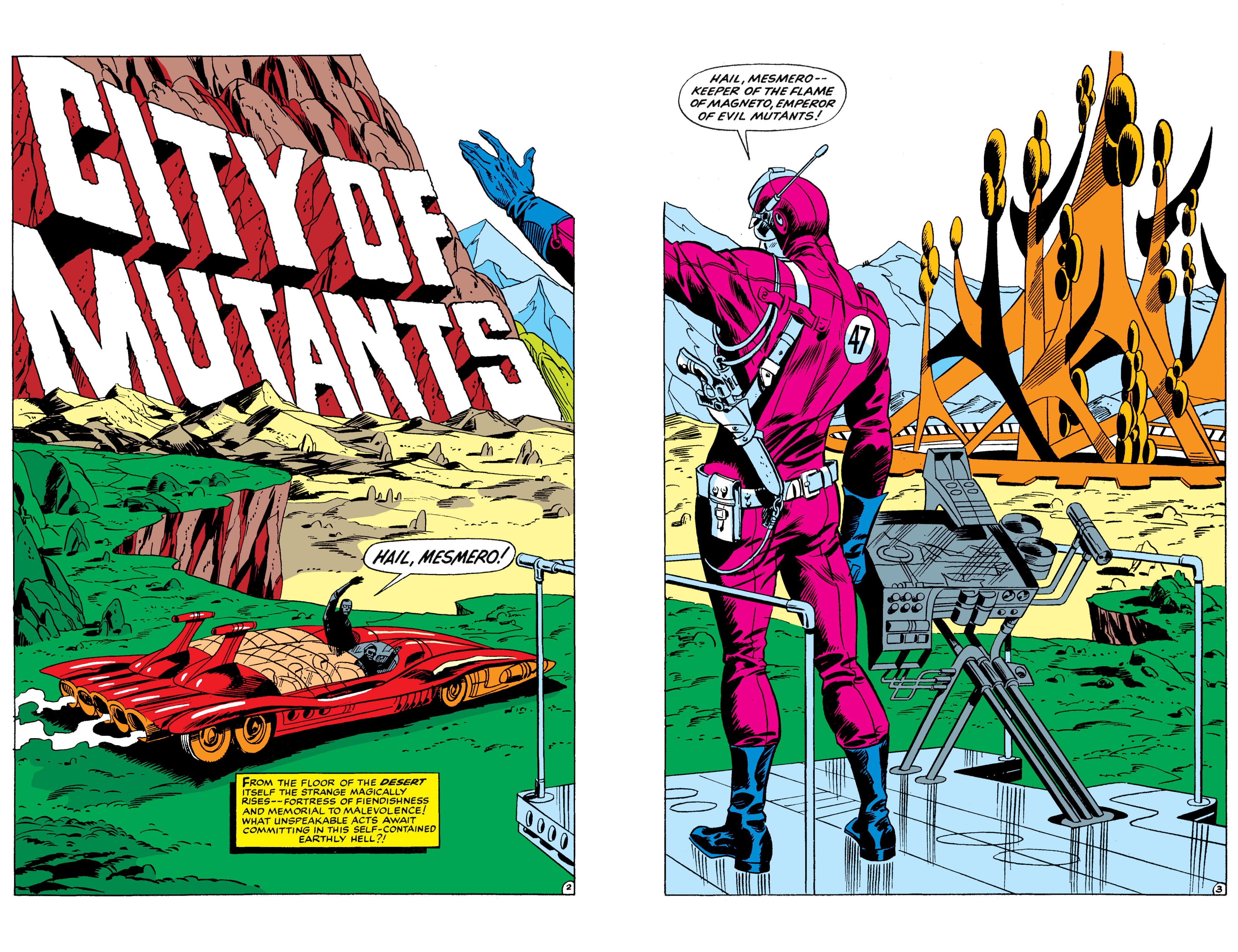 Read online Uncanny X-Men (1963) comic -  Issue #50 - 3