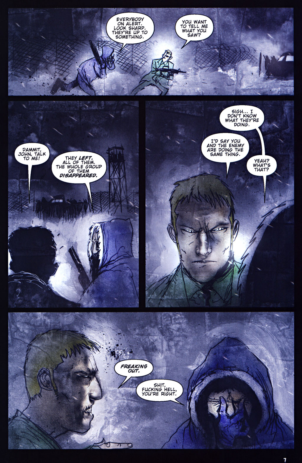 Read online 30 Days of Night: Return to Barrow comic -  Issue #5 - 8